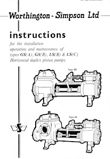Sentinel Steam Loco 7109: Worthington-Simpson Boiler Feed