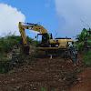 Dihari Pertama TMMD Kodim 0417 Kerinci, Material Tanah dan Rumput Diratakan