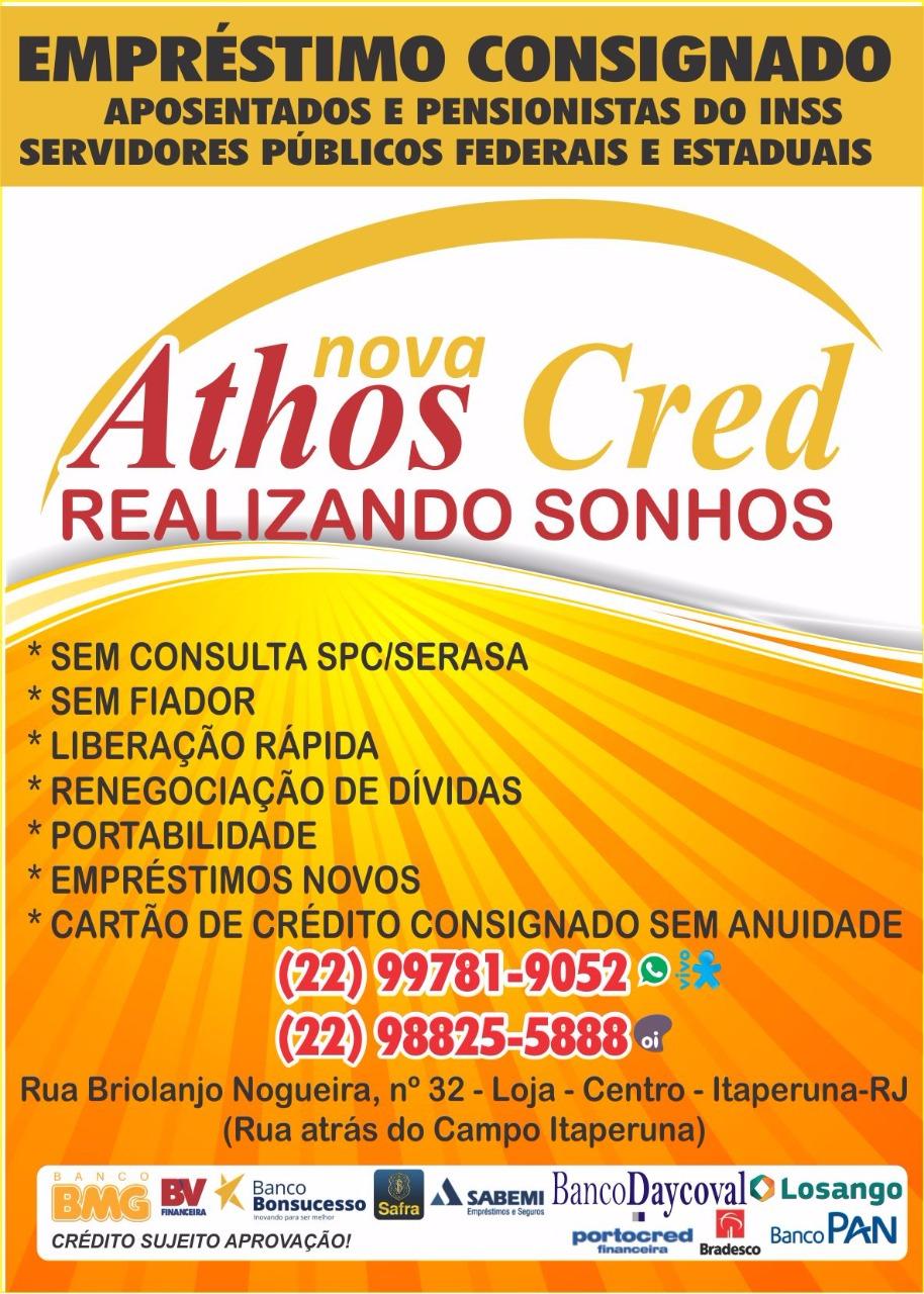 EMPRÉSTIMO CONSIGNADO É NA ATHOS CRED  231e1e0448f4c