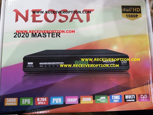 NEOSAT 2020 MASTER HD RECEIVER POWERVU KEY OPTION