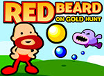 Help Mr. Red Beard Reach for gold in this #2DPlatformer! #OnlineGames #FlashGames