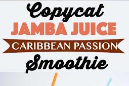 Jamba Juice Caribbean Passion Smoothie Copycat Recipe