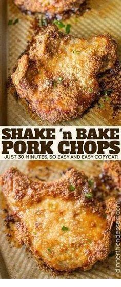 Shake And Bake Pork Chops