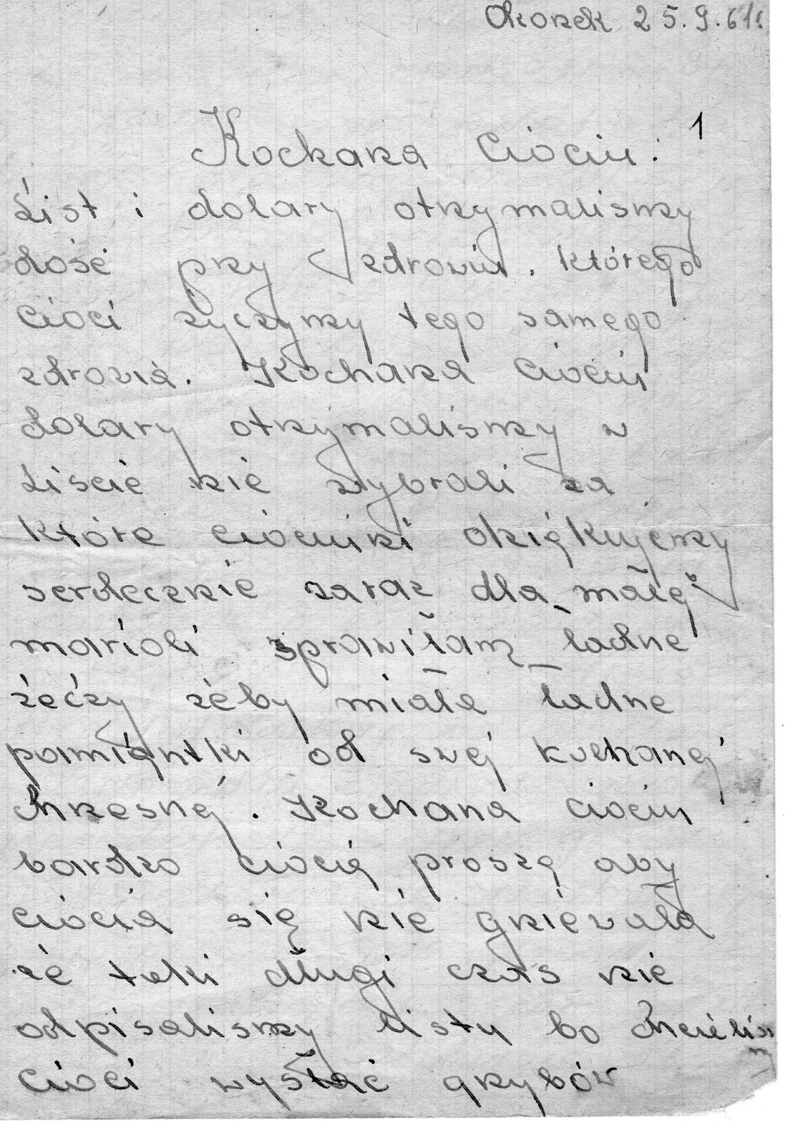 Attention People Who Know How To Read Polish Do You Think Could This Letter And Translate It Into English Here Is The Let Me