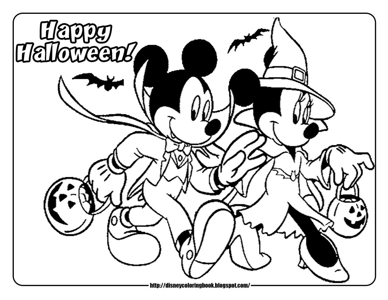 Welcome to miss priss mickey mouse batman coloring pages for Minnie mouse halloween coloring pages