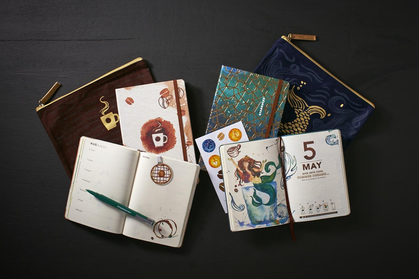 The most awaited Starbucks Coffee 2017 Planners