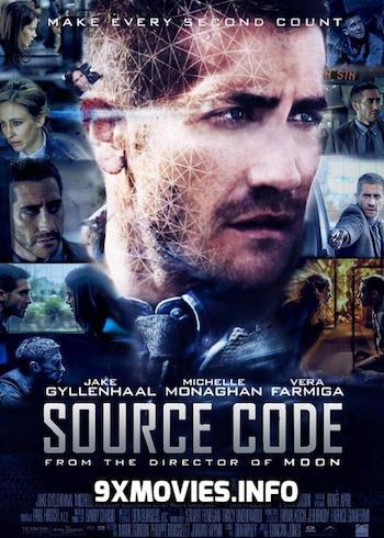Source Code 2011 Dual Audio ORG Hindi 480p BluRay 300mb