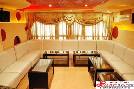 Sofa karaoke đơn giản