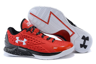 Sepatu Basket Under Armour Curry 1 Team Red, toko sepatu basket , jual basket under armour, UA curry 1, curry 1 team red