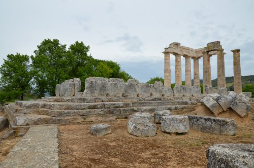 The Temple of Zeus Ancient Nemea Photo Carole Raddato