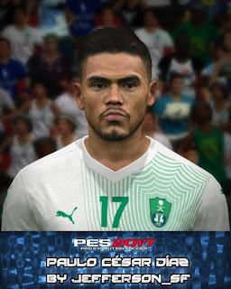 PES 2017 Faces Paulo Díaz by Jefferson_SF