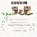 {2020} Happy Birthday, Cousin - Awesome Birthday Quotes and Wishes for Cousin