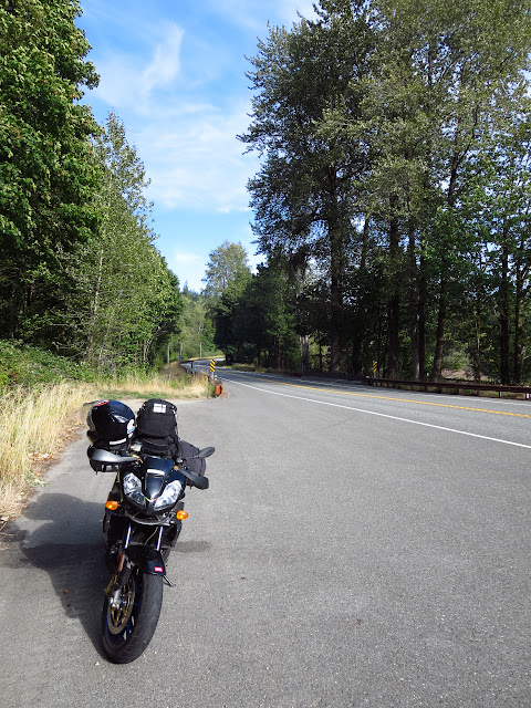 Aprilia Tuono Cascade Mountains Washington