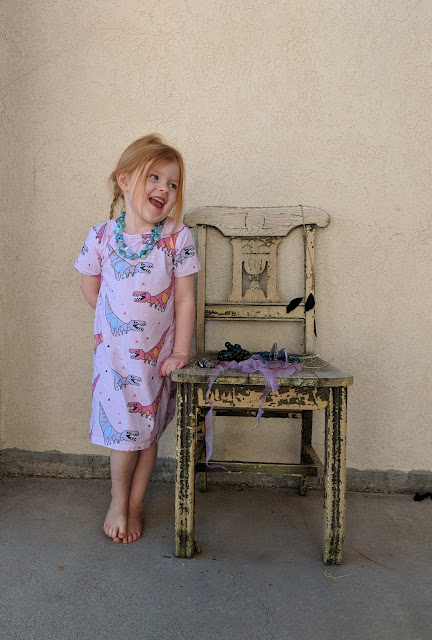 Primary Tee & Dress PDF Pattern Release, sizes 12 month to 12 years
