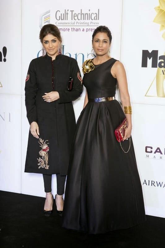 Gayathrie Zaveri and Rashmi Kumari, Masala! Awards 2014 Photo Gallery