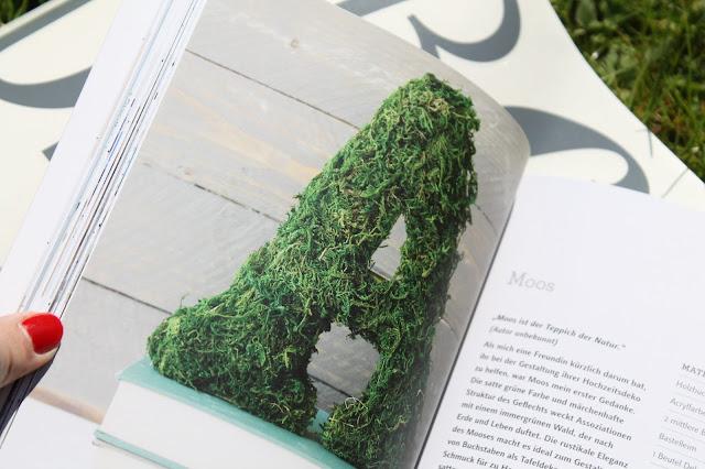 DIY Moosbuchstabe Das Deko ABC Buchtipp LV Buch Verlag Jules kleines Freudenhaus inkl Verlosung7