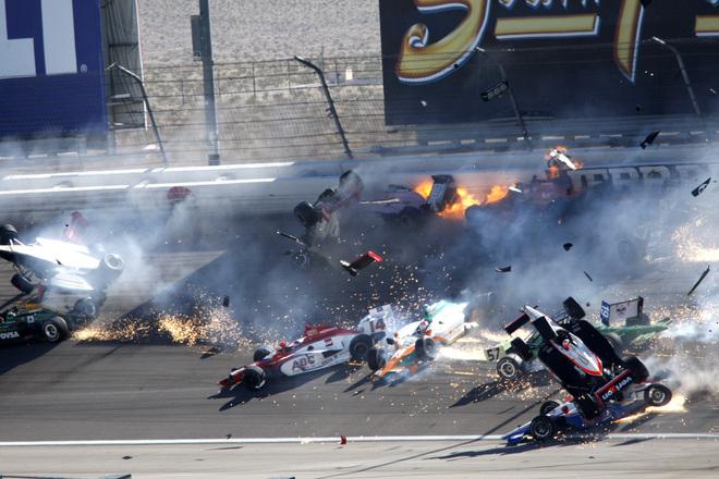 The Las Vegas Badger: Media Reports On Dan Wheldon's Crash