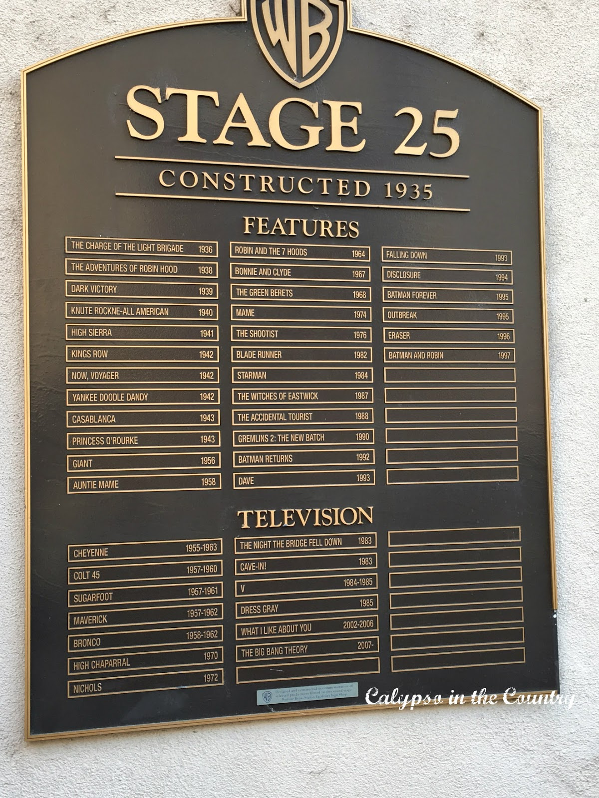 WB Studio Stage 25 - Big Bang Theory