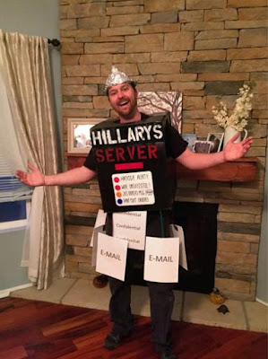 Hillary's Email Server Halloween Costume