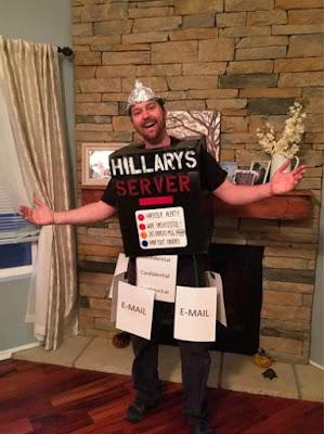 Hillary's Email Server Halloween Costume