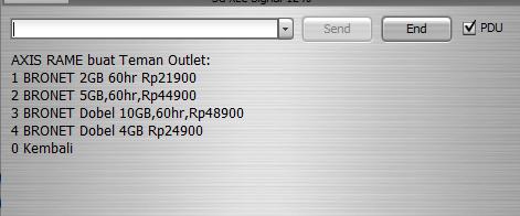 Daftar paket internet axis murah