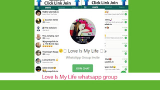 Love Is My Life whatsapp group link