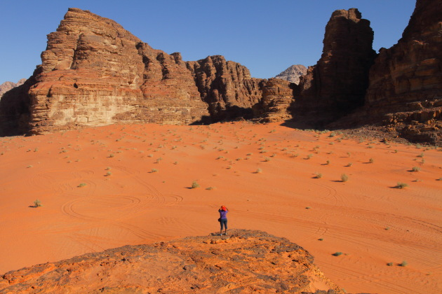 Photographing the stunning landscapes of Wadi Rum, Jordan