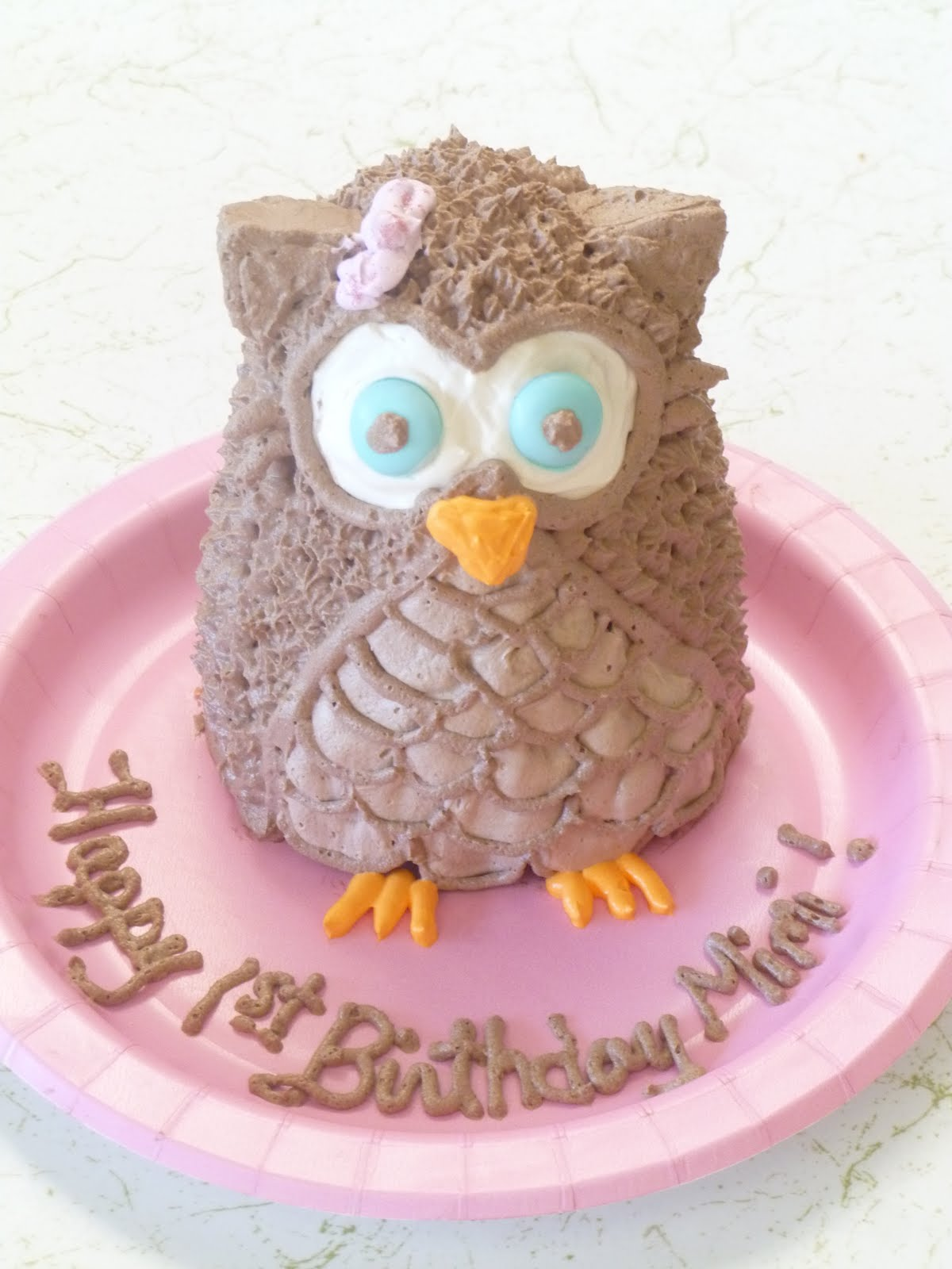 Cakes And Other Creations Owl Cake