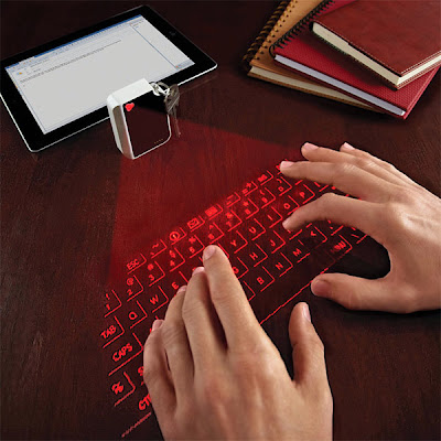 Smart Gadgets That Turns Any Surface Interactive - Virtual Keyboard Keychain (11) 11