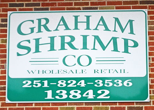 World Food Championships 2016 Orange Beach AL Graham Shrimp Co signage