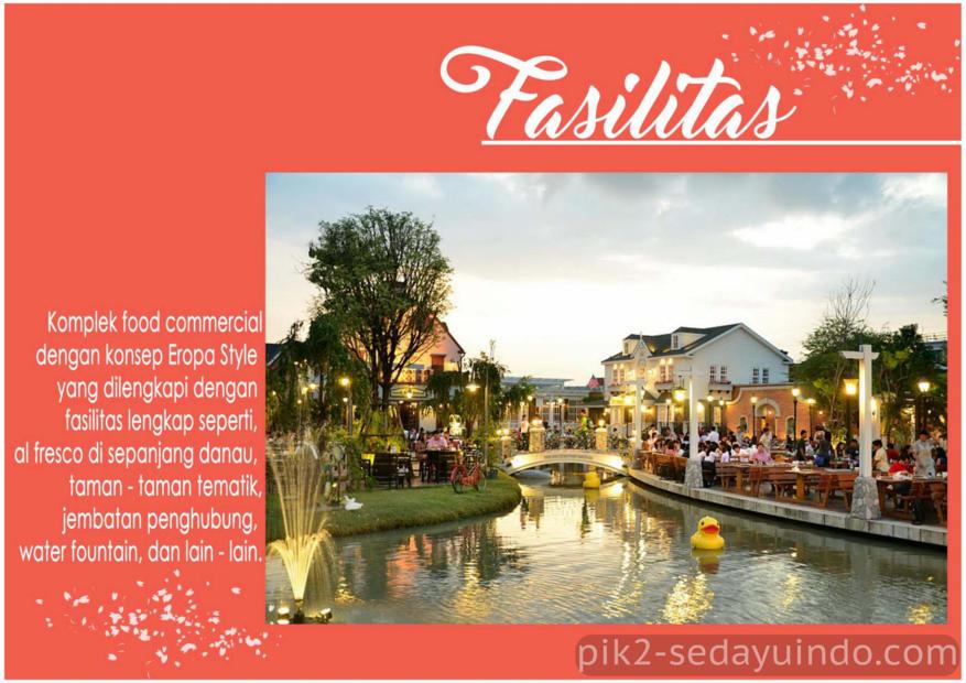 Fasilitas Rukan La Riviera PIK 2 Jakarta