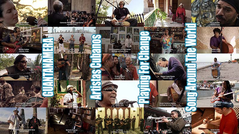 75 Artistas Cubanos ¨Guantanamera¨ - Playing For Change - Song Around The World. Portal Del Vídeo Clip Cubano