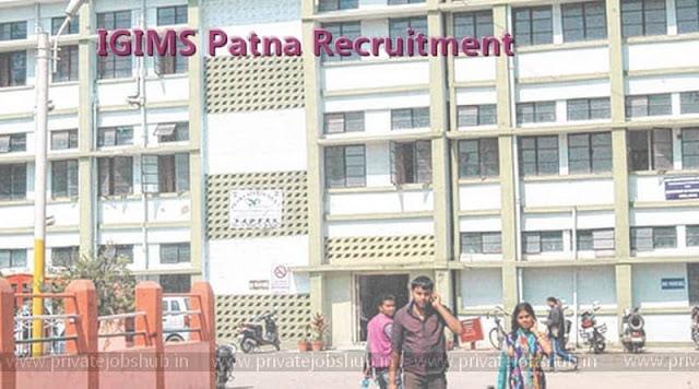 IGIMS Patna Recruitment