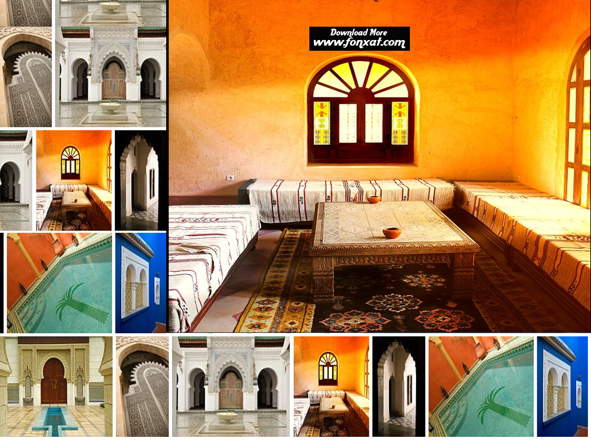 high quality backgrounds : Morocco