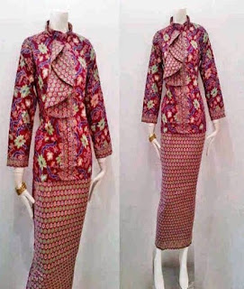 baju batik pramugari sriwijaya