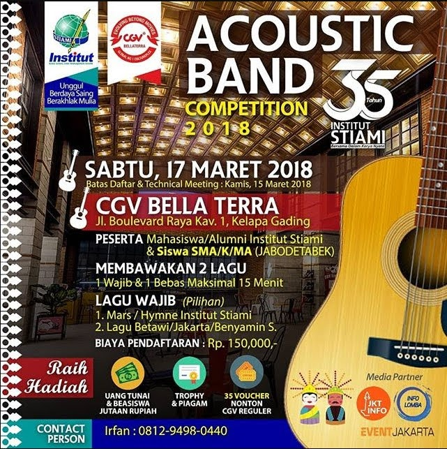 Lomba Accoustic Band Competition 2018 Institut STIAMI