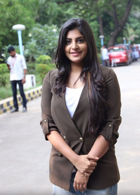 Manjima Mohan at AYM Tamil Movie Press Meet Photos