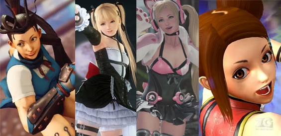 Kawaii Anime Girls in Video games