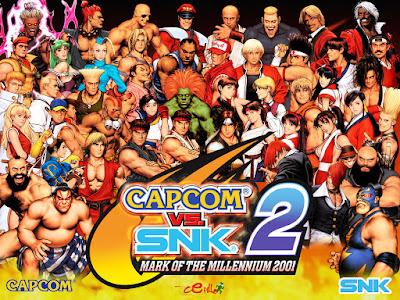 Videojuego Capcom vs SNK