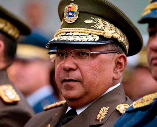 El General Néstor Reverol podría sustituir a Padrino López
