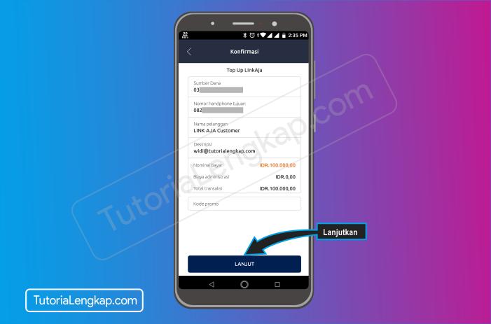 Tutorialengkap 7 cara isi saldo LinkAja atau Tcash dengan Aplikasi Brimo Bank Bri secara Online