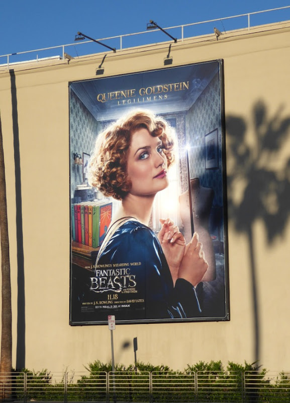 Queenie Goldstein Fantastic Beasts billboard