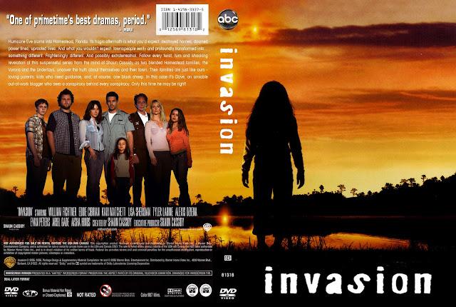 Invasion DVD Cover