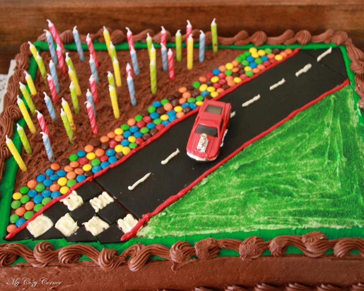 Birthday Cake Fire Permit