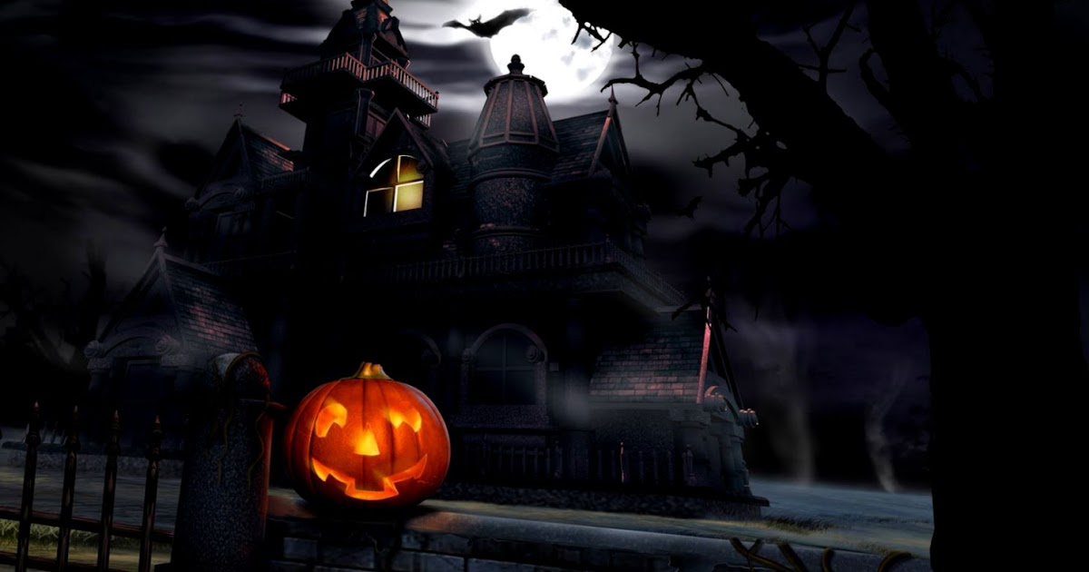 Horror Animated Wallpaper Free Download For Pc: Halloween Scary Animated Desktop Wallpaper