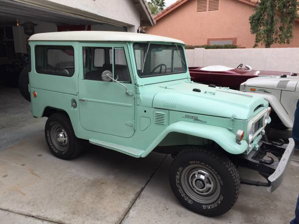 Immaculate Restoration FJ40