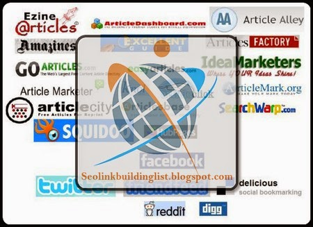 Top High PR 100 Articles Site List
