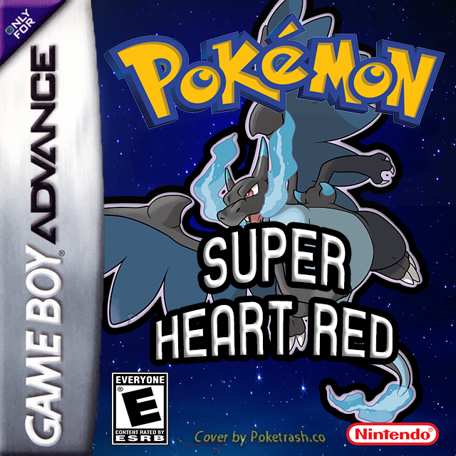 Pokemon Super Heart Red gba