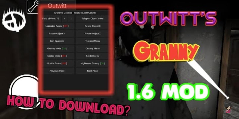 granny mod menu apk download 1.6