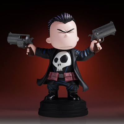 Animated The Punisher Mini Marvel Statue by Skottie Young & Gentle Giant